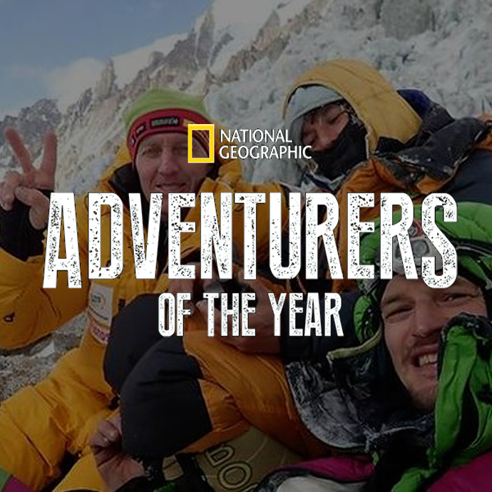 "National Geographic ""Adventurers of the year"" dla Adama Bieleckiego i Denisa Urubko."